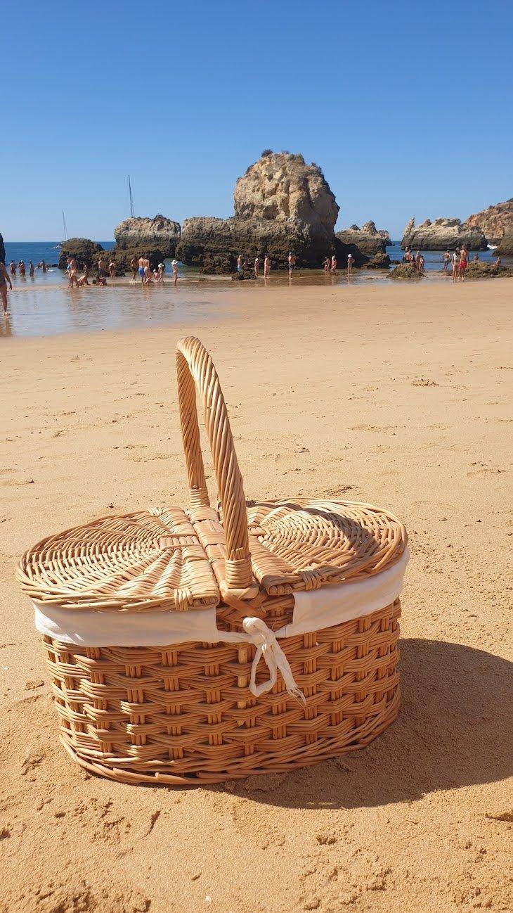 Cesto de piquenique do Vale da Lapa Village Resort - Carvoeiro - Algarve © Viaje Comigo