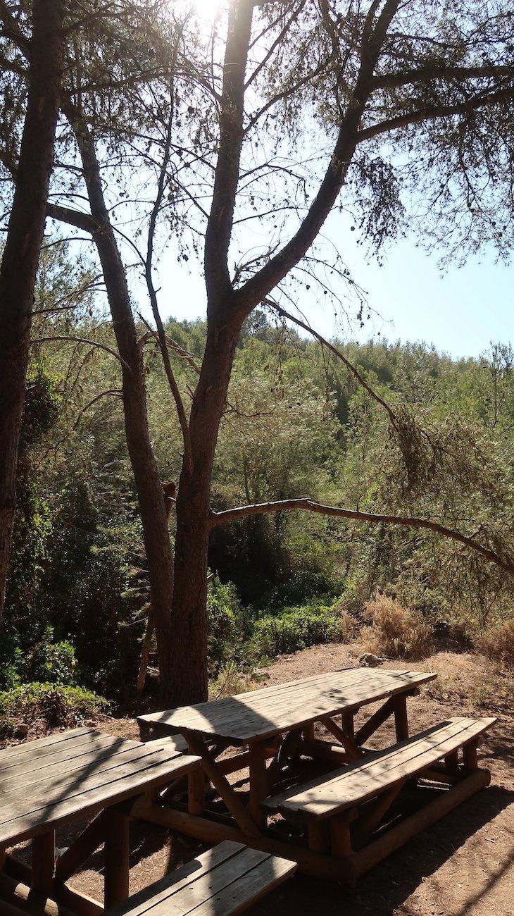 Área de piqueniques no Percurso 7 Vales Suspensos - Algarve - Portugal © Viaje Comigo