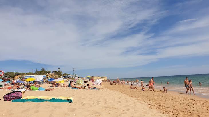 Praia da Galé - Albufeira - Algarve © Viaje Comigo