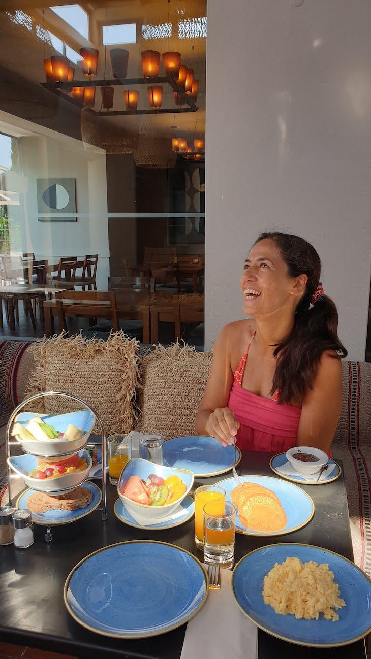 Pequeno-almoço no Vale da Lapa Village Resort - Carvoeiro - Algarve © Viaje Comigo