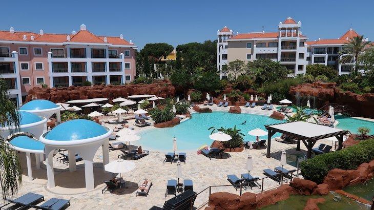 Vista da varanda do Hilton Vilamoura - Algarve - Portugal © Viaje Comigo