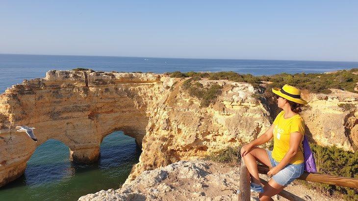Coração na água: Percurso 7 Vales Suspensos - Algarve - Portugal © Viaje Comigo