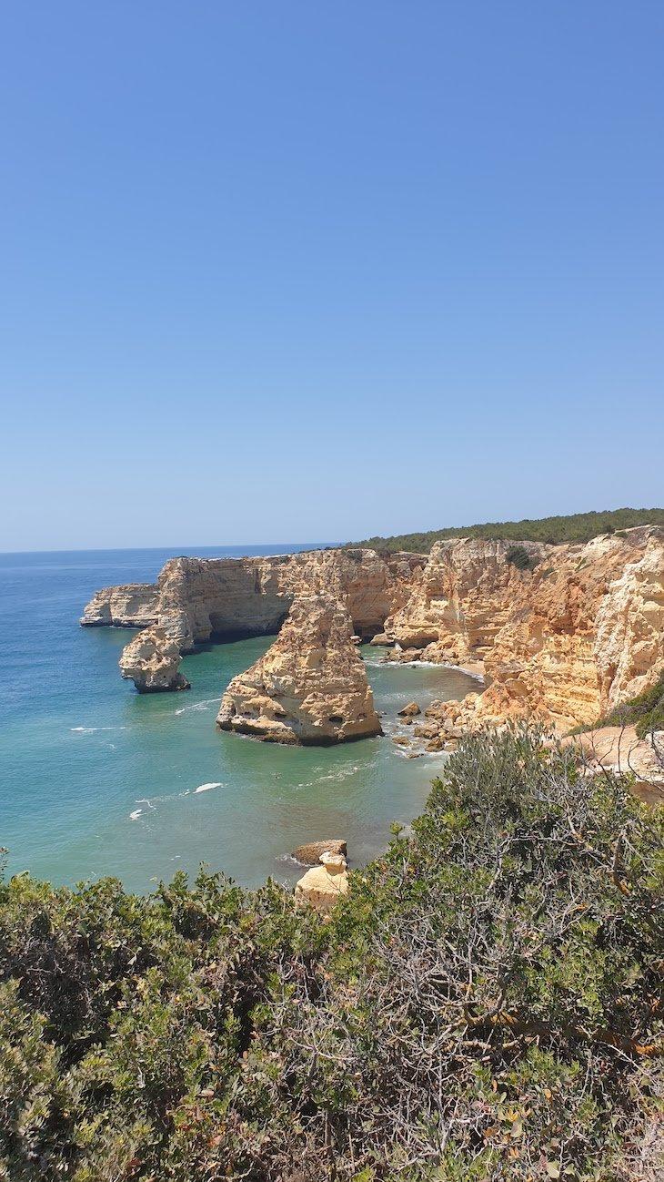 Praia da Marinha - Percurso 7 Vales Suspensos - Algarve - Portugal © Viaje Comigo