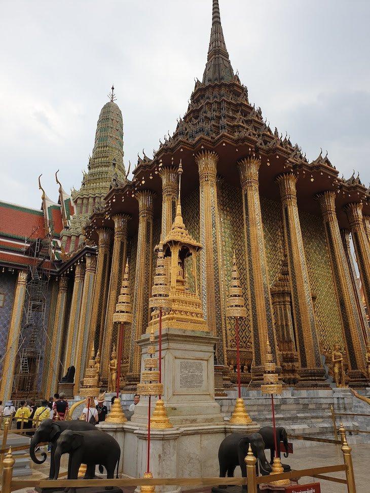 Palácio Real em Bangkok - Banguecoque, Tailândia © Viaje Comigo