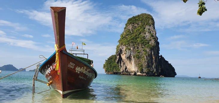 Railay Beach - Tailândia © Viaje Comigo