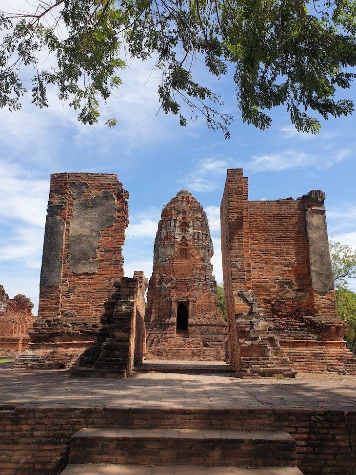 Ruínas de Ayutthaya - Tailândia © Viaje Comigo