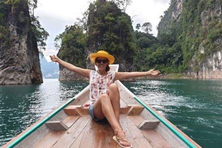 Susana Ribeiro em Khao Sok - Tailandia © Viaje Comigo