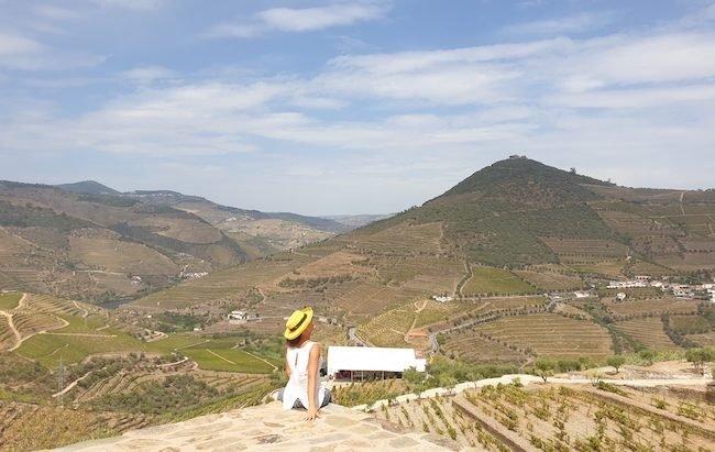 Vista da Quinta da Côrte - Vindimas 2020, Valença do Douro © Viaje Comigo