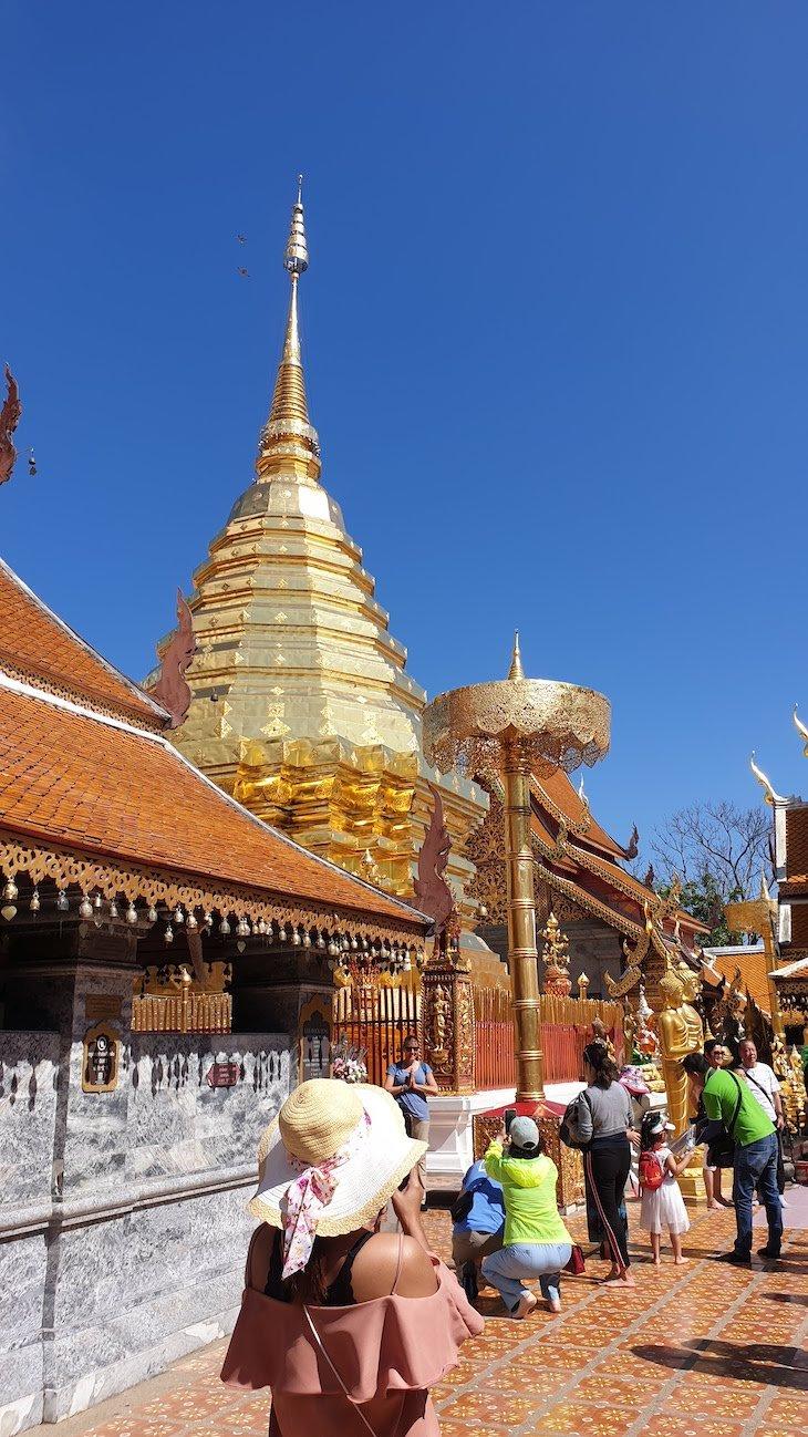 Wat Phra That Doi Suthep - Chiang Mai - Tailândia © Viaje Comigo