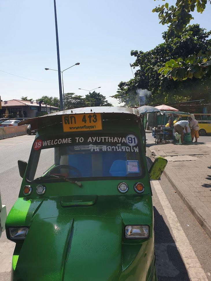 Tuk Tuk em Ayutthaya - Tailândia © Viaje Comigo