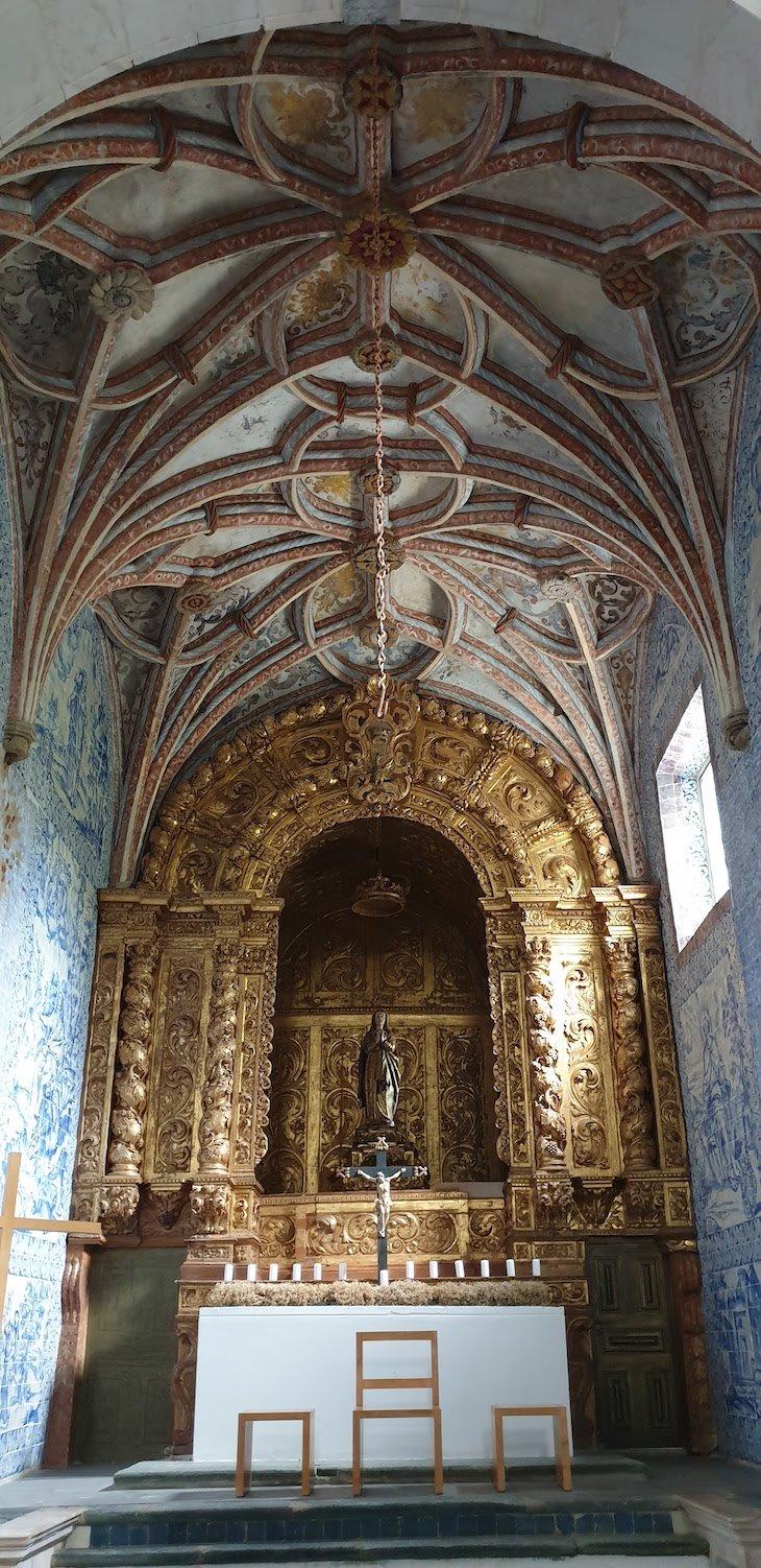 Capela Nossa Senhora da Assunção - Pousada Convento Arraiolos - Alentejo - Portugal © Viaje Comigo