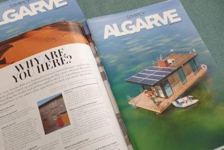Simply Algarve - entrevista a Susana Ribieiro do Viaje Comigo