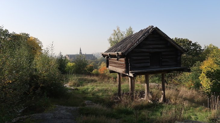 Casas de Skansen - Estocolmo - Suécia © Viaje Comigo