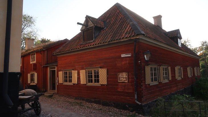 Museu Skansen - Estocolmo - Suécia © Viaje Comigo