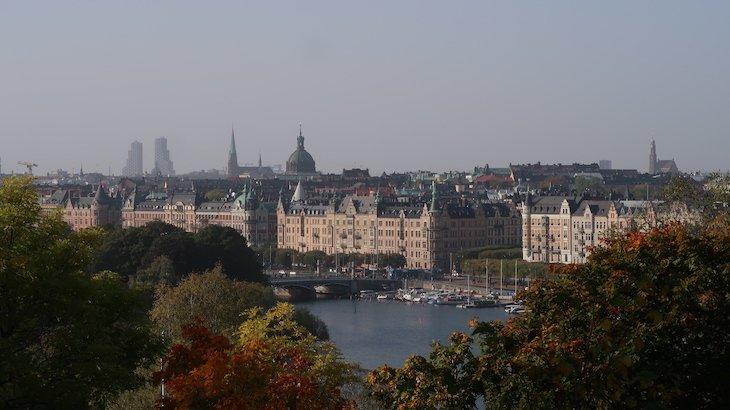 Vista de Skansen - Estocolmo - Suécia © Viaje Comigo