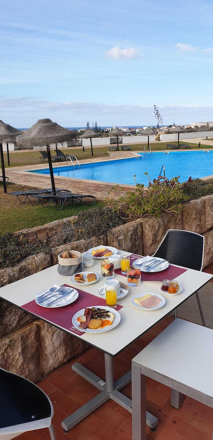 Pequeno-almoço da Pousada de Sagres - Algarve - Portugal © Viaje Comigo