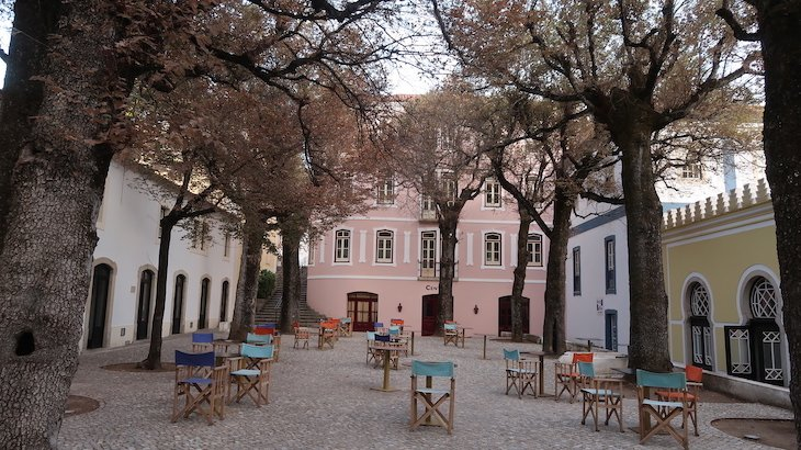 Praça da Villa Termal Caldas de Monchique Spa Resort © Viaje Comigo