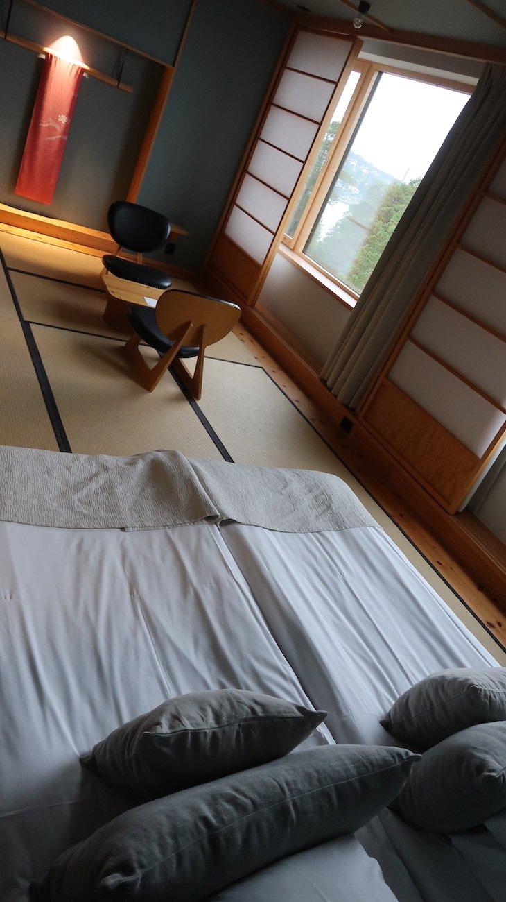 Quarto do Hotel Yasuragi - Estocolmo - Suecia © Viaje Comigo