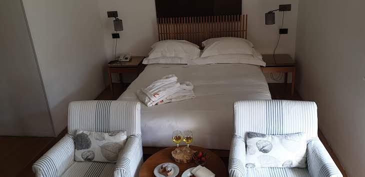 O meu quarto na Pousada Convento Arraiolos - Alentejo - Portugal © Viaje Comigo