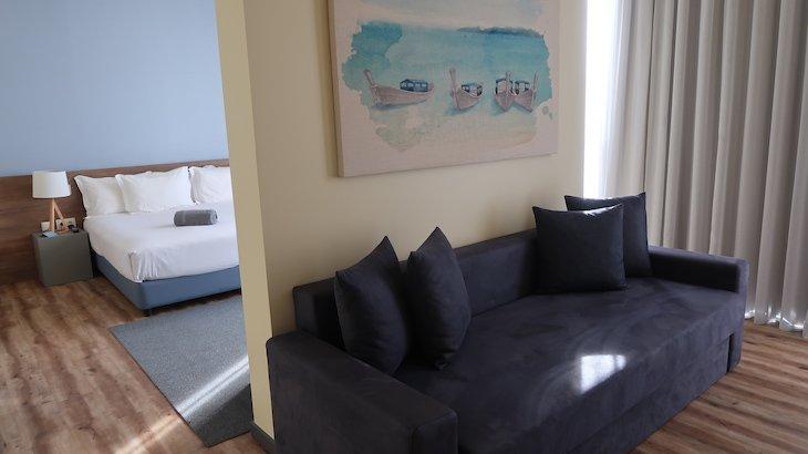 Quarto - suite do Hotel The Prime Energize - Monte Gordo - Algarve © Viaje Comigo