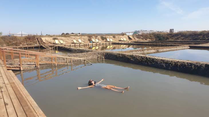 Susana Ribeiro no Spa Salinas de Castro Marim - Algarve - Portugal © Viaje Comigo
