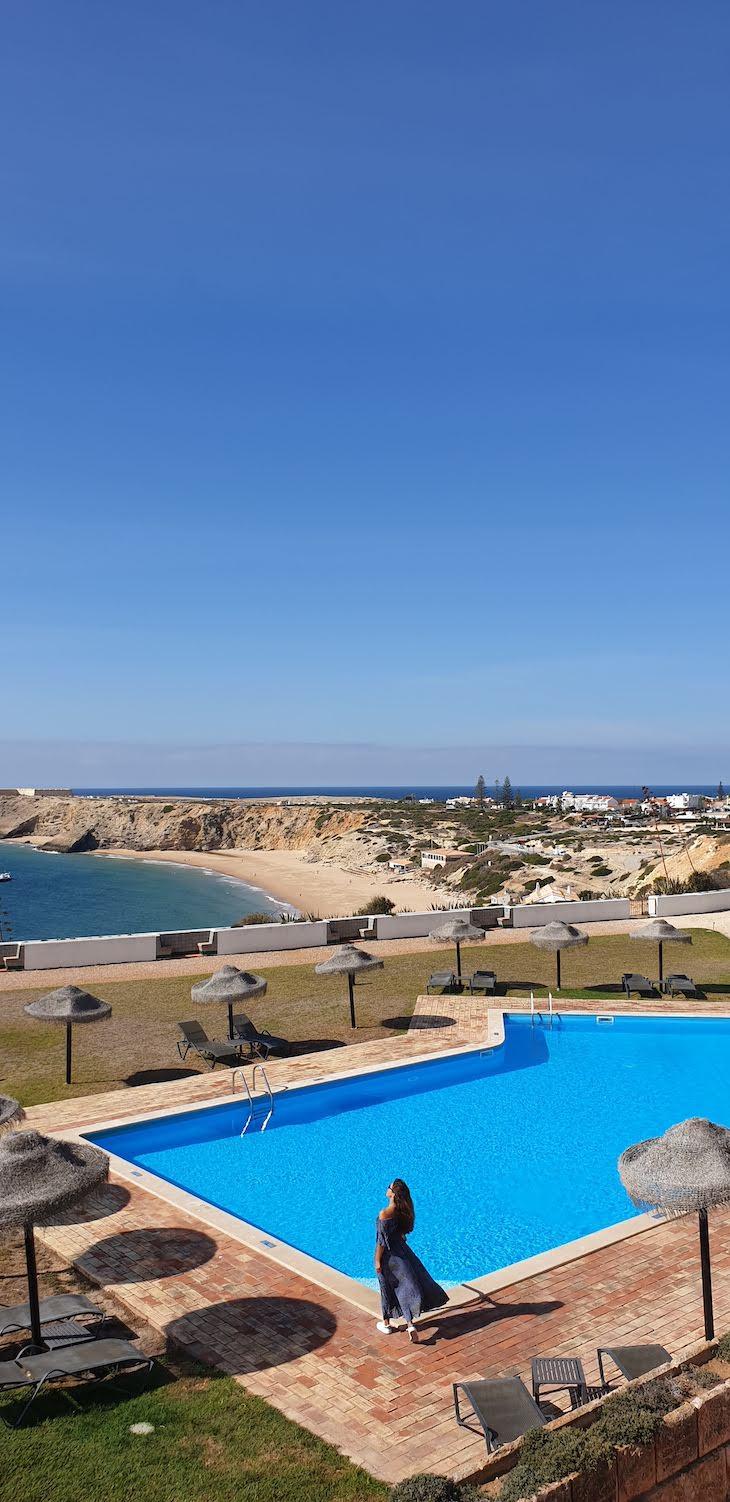 Piscina da Pousada de Sagres - Algarve - Portugal © Viaje Comigo