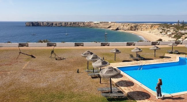 Pousada de Sagres - Algarve - Portugal © Viaje Comigo
