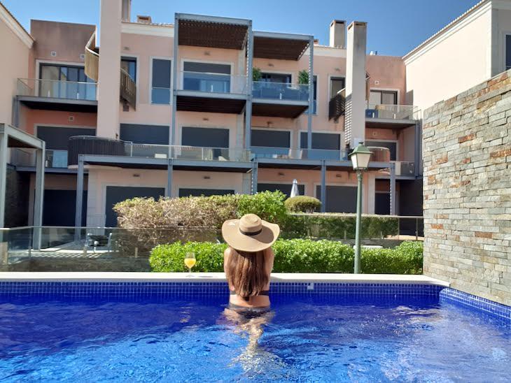 Piscina privada de moradia no Vale do Lobo Resort - Algarve - Portugal © Viaje Comigo