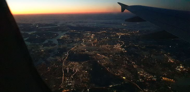Voar sobre a Suécia - outubro 2020 © Viaje Comigo