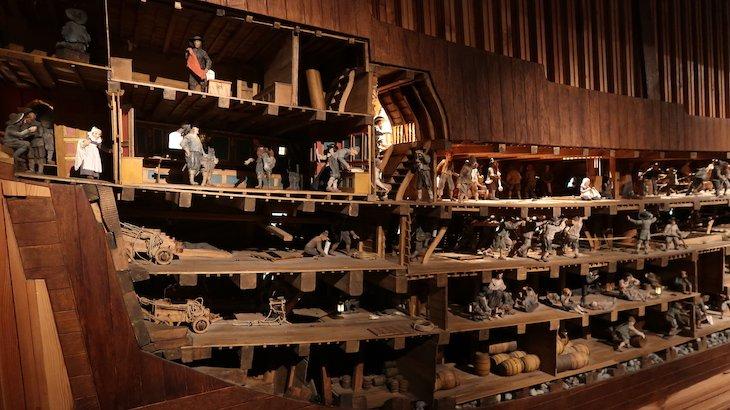 Como seria o interior do Vasa - Estocolmo - Suécia © Viaje Comigo