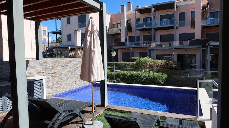 Piscina da casa no Vale do Lobo Resort - Algarve - Portugal © Viaje Comigo