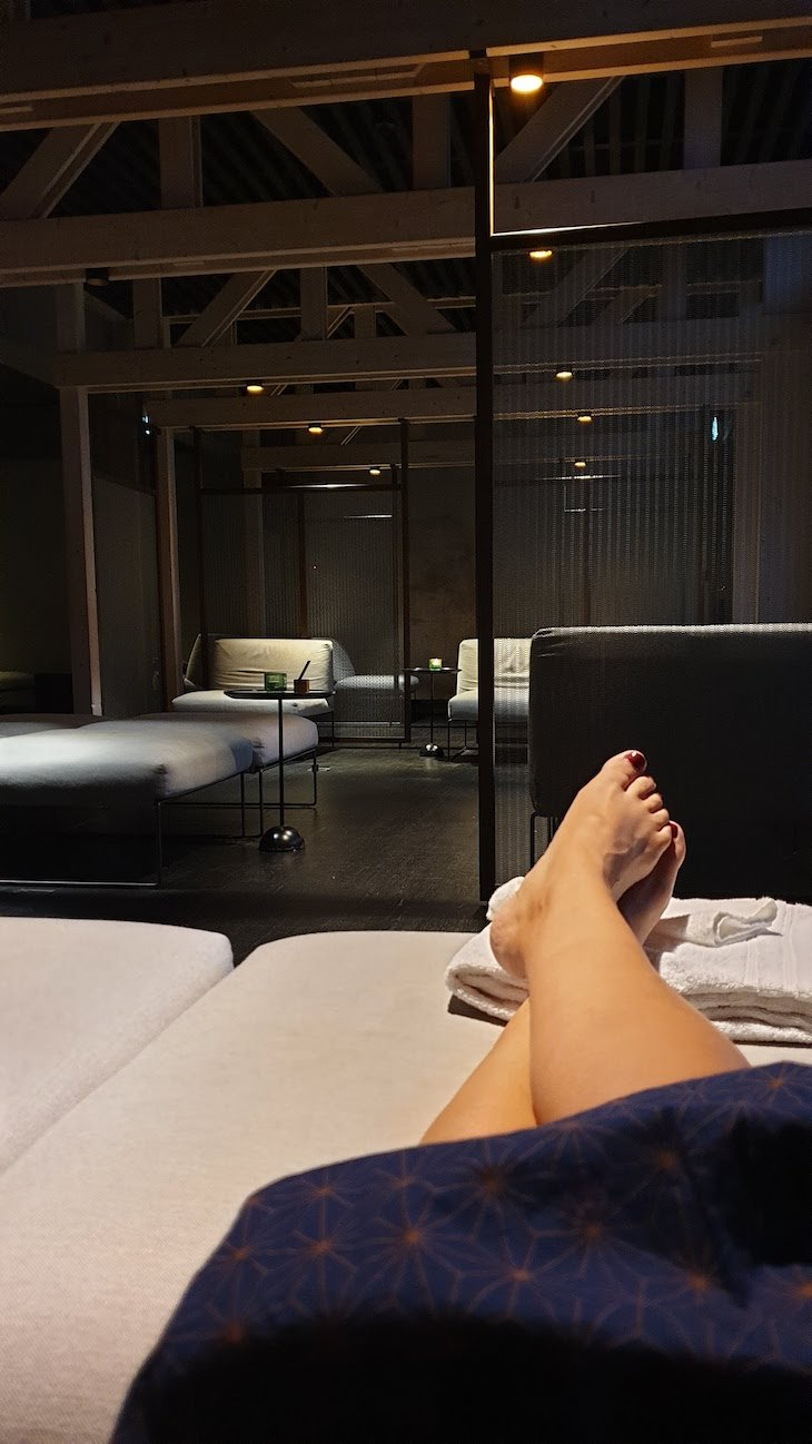 Relax nos banhos japoneses - Hotel Yasuragi - Estocolmo - Suecia © Viaje Comigo