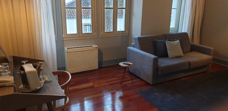 Sala do Central Suites - Villa Termal Caldas de Monchique Spa Resort © Viaje Comigo