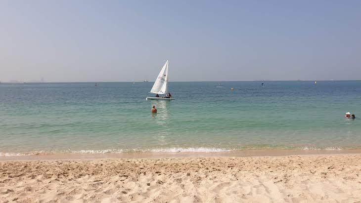 Praia Sunset Beach - Dubai - Emirados Árabes Unidos © Viaje Comigo