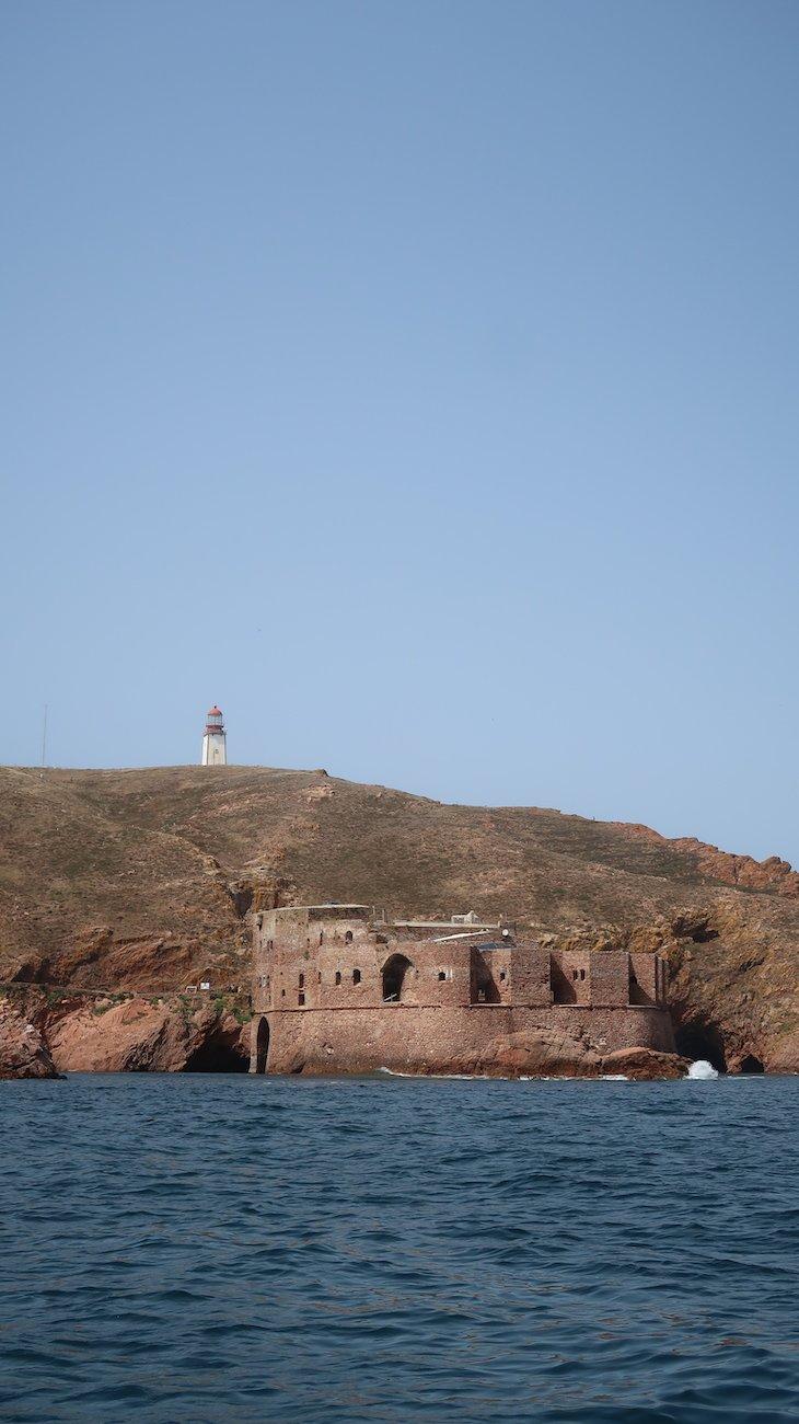 Forte de São João Baptista na Berlenga Grande - Portugal © Viaje Comigo