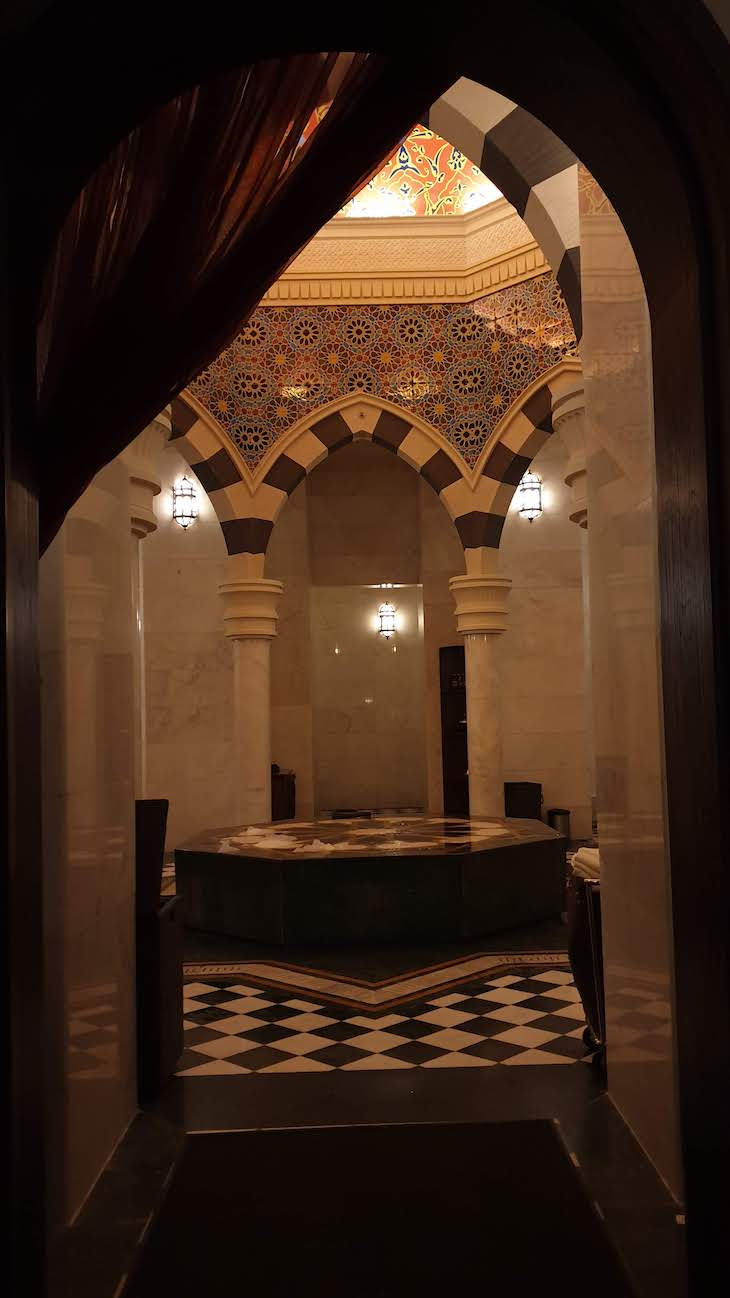 Talise Ottoman Spa no hotel Jumeirah Zabeel Saray - Dubai © Viaje Comigo