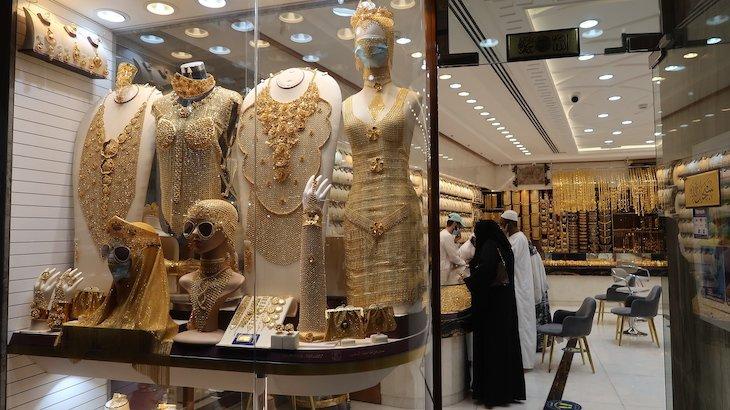 Souks no Dubai - Emirados Árabes Unidos © Viaje Comigo