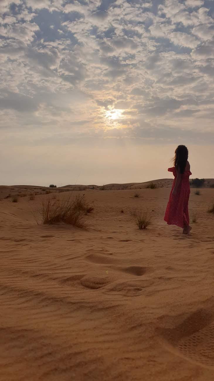 Nascer do sol - Dubai Desert Conservation Reserve - Dubai - Emirados Árabes Unidos © Viaje Comigo