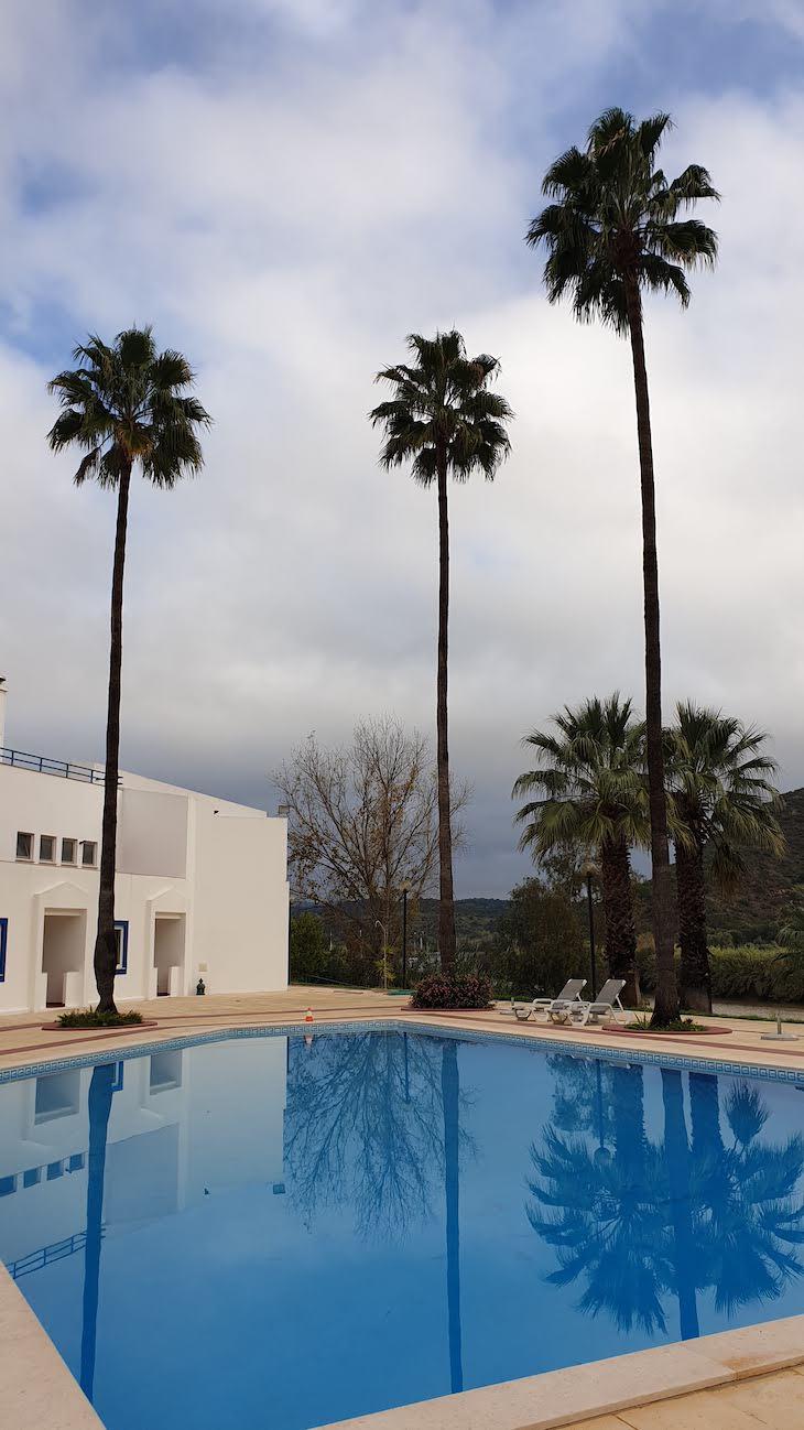 Piscina do Hotel D' Alcoutim - Algarve - Portugal © Viaje Comigo
