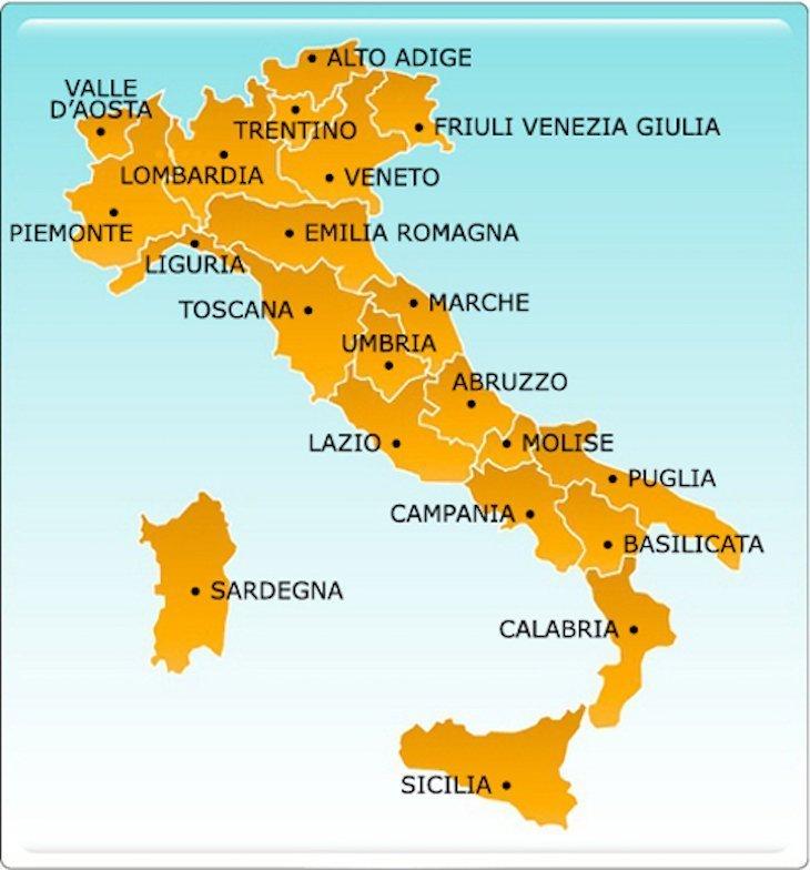 Regiões de Itália DR