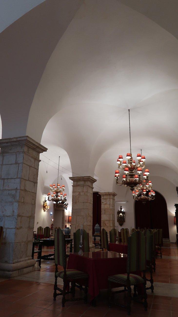 Restaurante da Pousada Castelo Estremoz - Alentejo - Portugal © Viaje Comigo