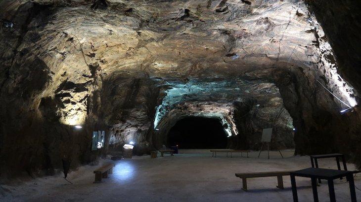 Sala de eventos das Minas de Sal-Gema - Loulé - Algarve © Viaje Comigo