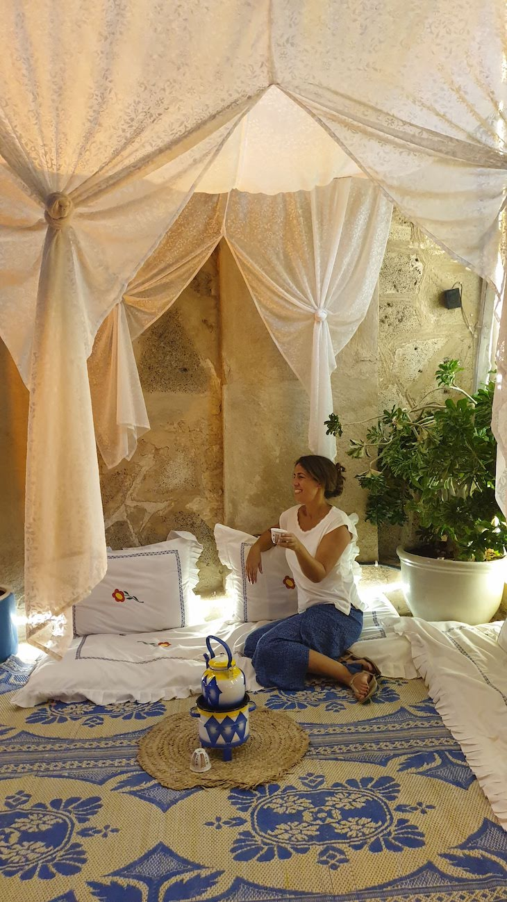 Arabian Tea House - Dubai - Emirados Árabes Unidos © Viaje Comigo