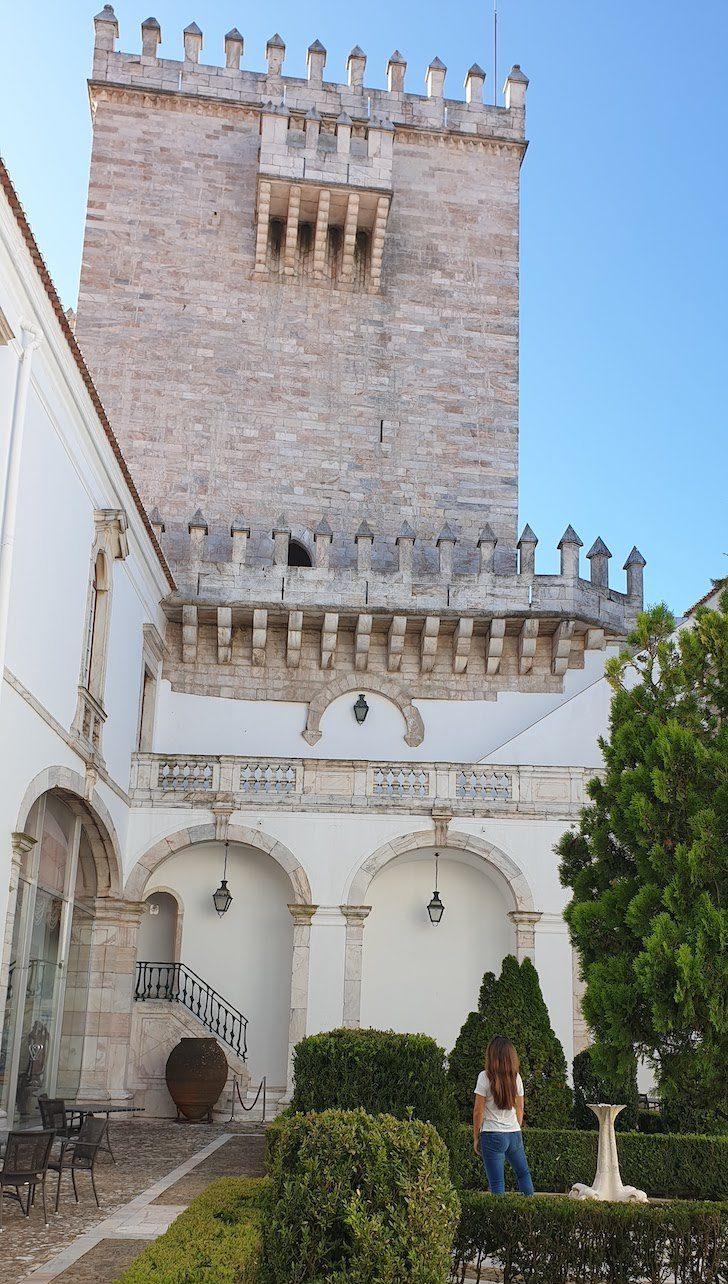 Susana Ribeiro na Pousada Castelo Estremoz - Alentejo - Portugal © Viaje Comigo