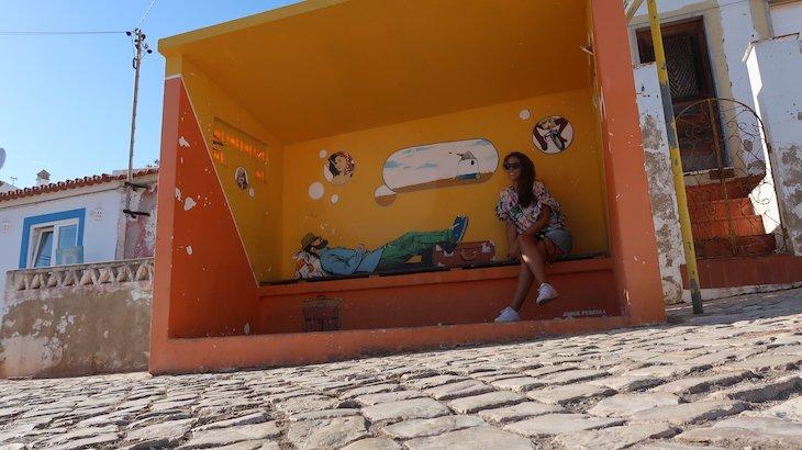Por falar em paragem... em Budens - Algarve - Portugal © Viaje Comigo