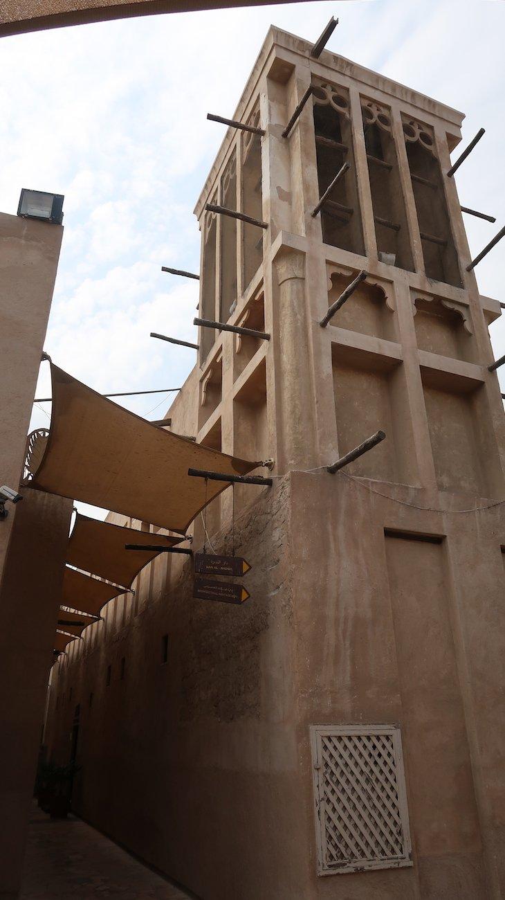 Torres de Vento em Bastakya - Antiga Dubai - Dubai © Viaje Comigo