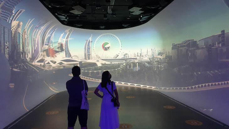 Vídeo da Dubai do Futuro - Na Moldura - Frame, Dubai © Viaje Comigo