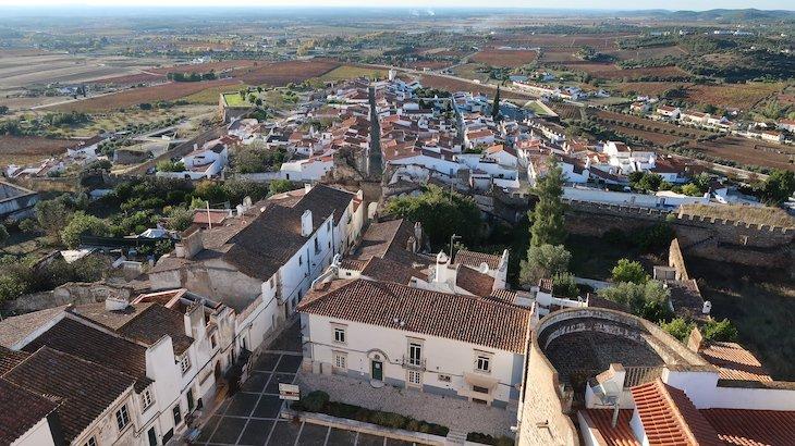 Vista da Torre de Menagem - Estremoz - Alentejo - Portugal © Viaje Comigo