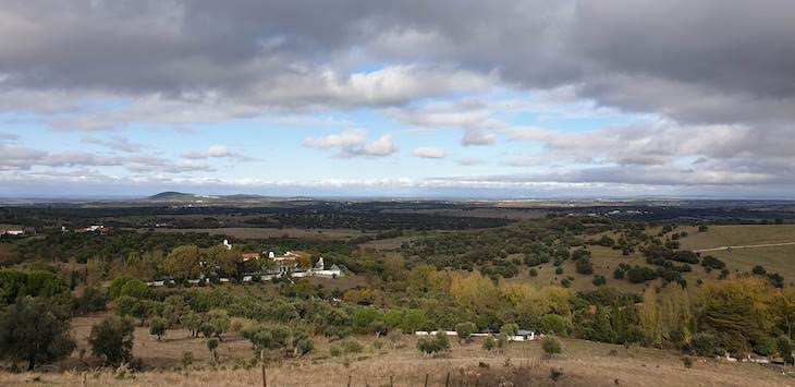 Vista para a Pousada de Arraiolos - Alentejo - Portugal © Viaje Comigo