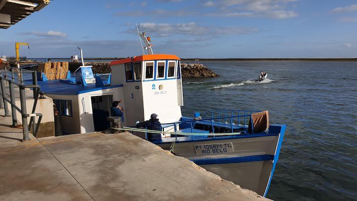 Barco Rio Belo - Ilha da Armona - Olhão - Algarve © Viaje Comigo